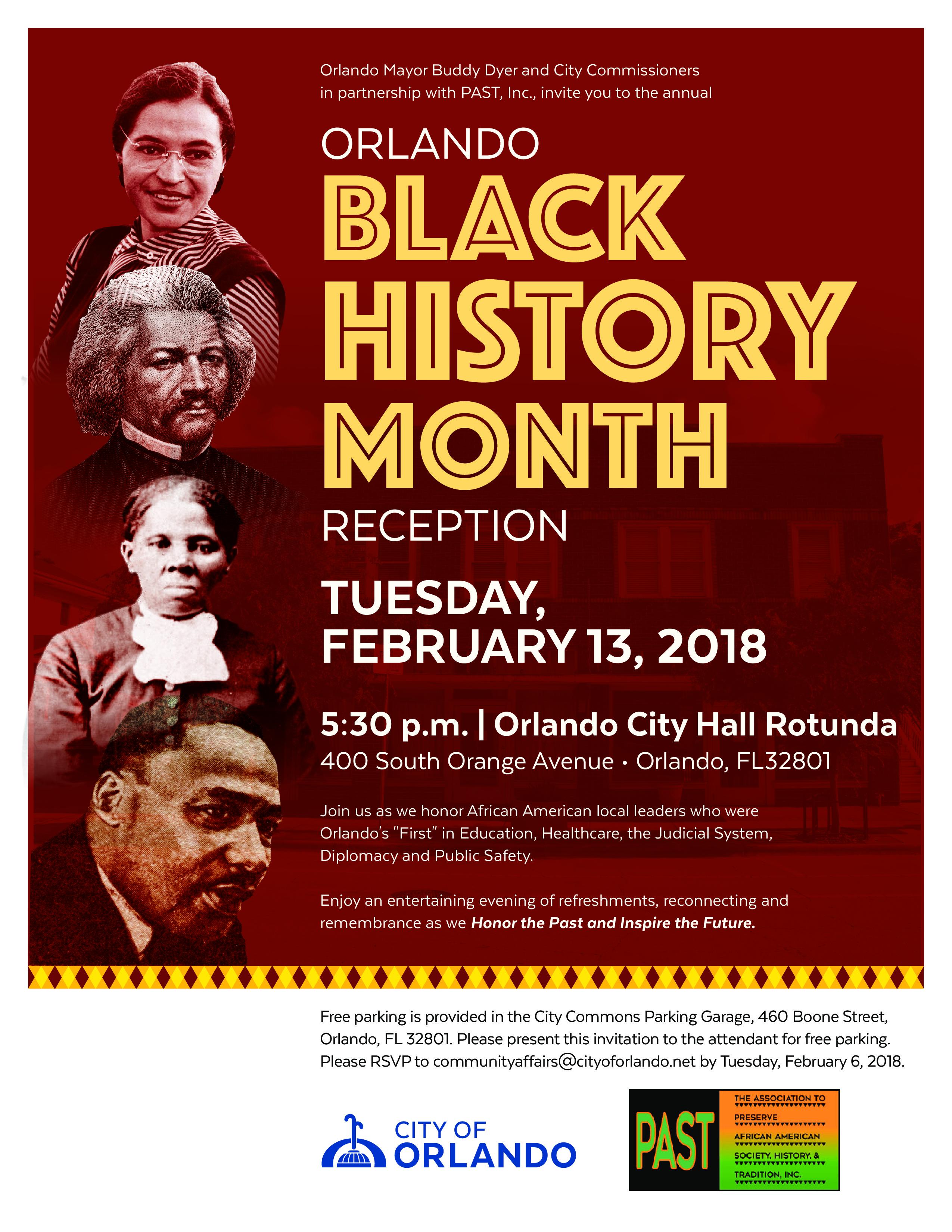 Celebrate Black History Month With The City Of Orlando Ealon Magazine